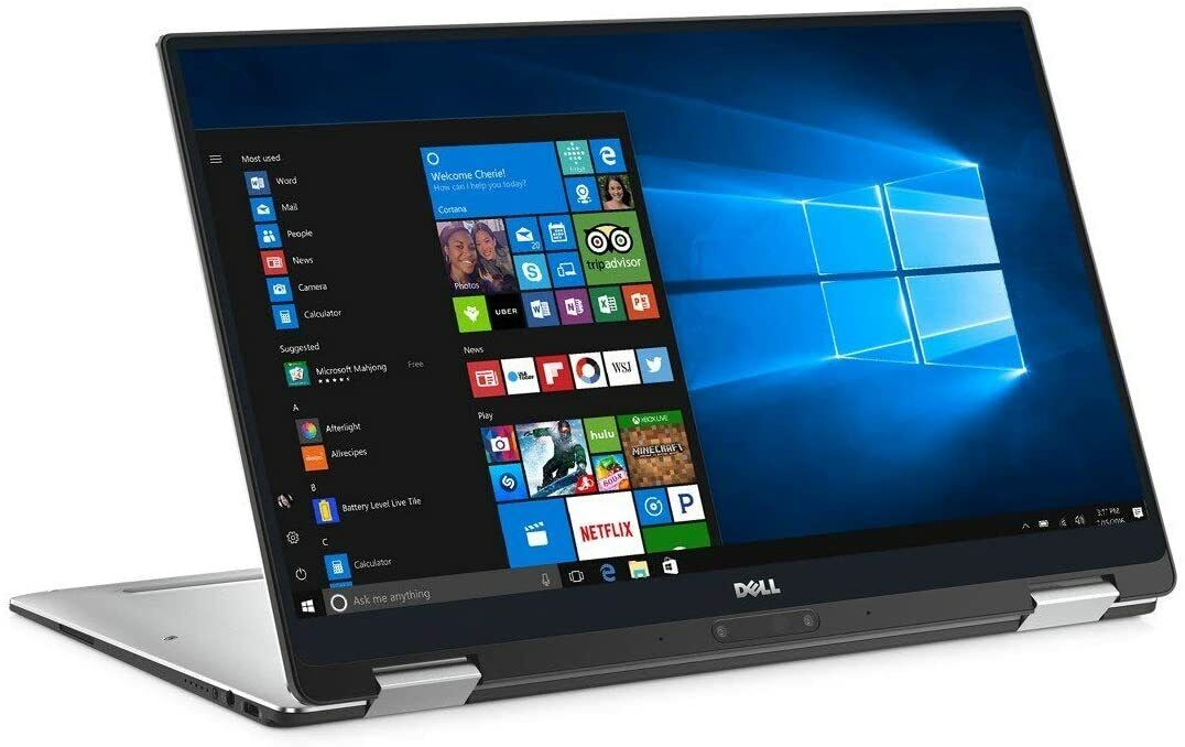 Dell XPS 13 9365 2-in-1 Tablet & Laptop - Core i7 4K 3200x1800 Touch 512GB 8GB 2