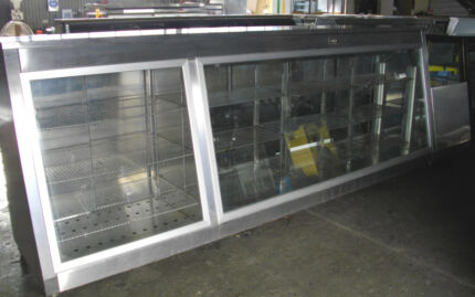 Hot and Cold Bakers Display Cabinet