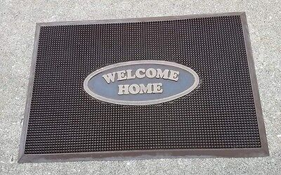 DVC Walt Disney World Vacation Club Villa resort room prop door mat WELCOME HOME