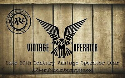 The Vintage Operator Gear Store