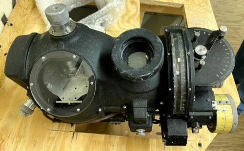 Norden Bombsight Head and Stabilizer Set, WWII Original