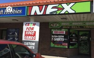NEX pays CASH for Video Games