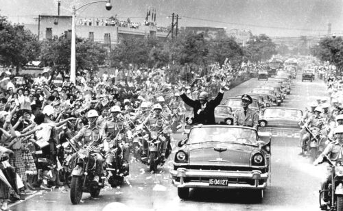 1960-Chiang Kai-shek the Republic of China Meets President Dwight D. Eisenhower