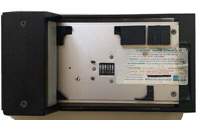 Bartizan Corporation Chargemate Cm116ax Manual Credit Card Imprinter