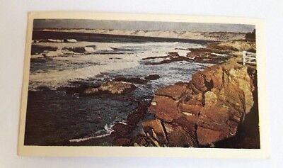 Vintage 1969 American Oil Company Postcard La Jolla Coastline California, used for sale  Algonquin