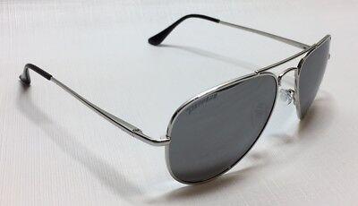 NEW Peppers Eyewear Freeway Silver Mirror Aviator Polarized Sunglasses (Freeway Eyewear)