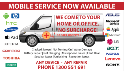 MOBILE WE COME TO YOU IPHONE, SAMSUNG, SONY, HTC PHONE REPAIRS