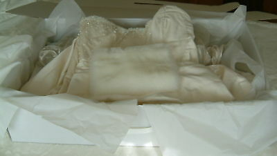 Wedding dress storage box. XXXL 40 large sheets Acid Free tissue incl.9000+ Sold