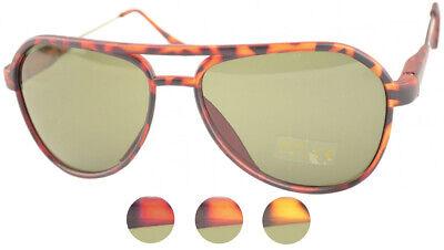 Vintage ADELINDE Retro AVIATOR Pilotenbrille Sunglasses SONNENBRILLE Rockabilly