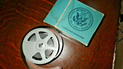 1900 U.S. Census Record records ALACHUA FL on Microfiche Roll Film micro film ZZ