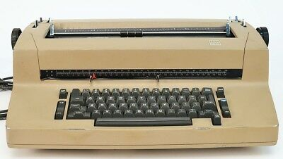 Vintage Ibm Correcting Selectric Ii Electric Typewriter Brown Parts Or Repair