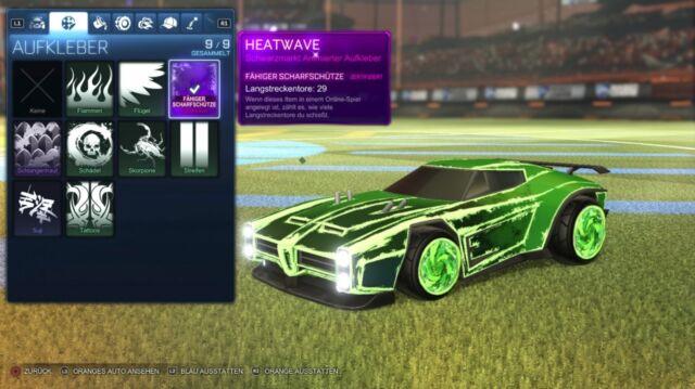 Rocket League   Heatwave (Black Market) Sniper Verifizierung ! [PC / Steam]