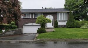 Brossard House for rent-Double garage!!!