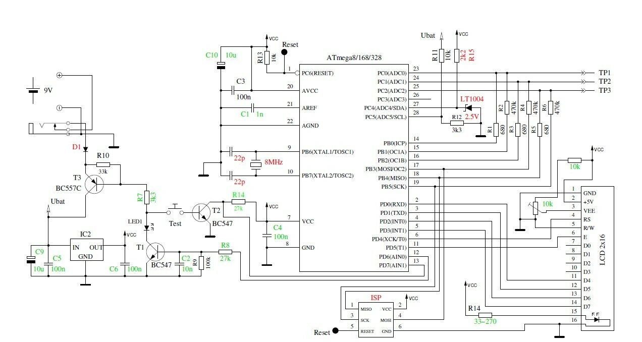 Inexpensive Capacitance Meter Circuit Diagram Tradeoficcom