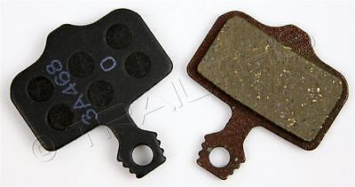 Avid Xx Disc Brake - 1-Pair of Genuine AVID ELIXIR ORGANIC Disc Brake Pads for Elixir 1, 7, 9, XX, X0