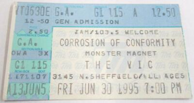 The Vic Corrosion Of Conformity Used Concert Ticket ~104~