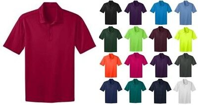 Port Authority Polo (Port Authority Mens Big & Tall Silk Touch Dri-Fit Polo Shirts NEW GOLF TLK540 )