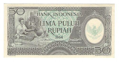 Indonesia - 50 Rupiah   1964