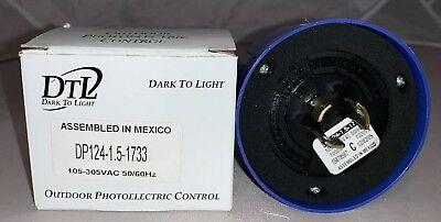 Dtl Dark-to-light Outdoor Photoelectric Control 105-305 Vac Dp124-1.5-1733