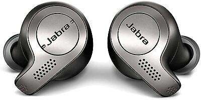 Jabra Elite 65t In-Ear Wireless Headphones - Titanium Black