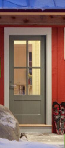 4 Lite Craftsman Style Entry Door