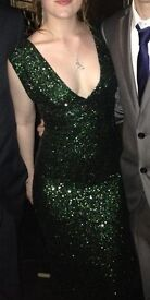 Dazzling Emerald Green prom Dress For Sale