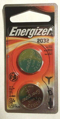 Cr2032 Pack (ENERGIZER CR2032 3 VOLTS LITHIUM BATTERIES NEW 2 PACK FREE SHIPPING EX 2023 )