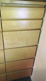 Ikea Malm Tall Drawers