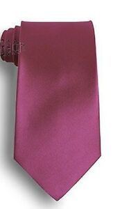 New Italian Mens Wedding Party Plain Skinny Necktie Tie