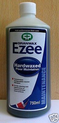 Granwax Ezee Hardwaxed Floor Maintainer 750ml / Floor Maintenance/ Floor Care