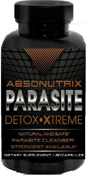 Absonutrix Parasite Detox Xtreme Cleanse Natural Safe parasites be gone