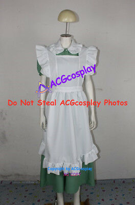 Axis Powers Hetalia Little Italy Maid Halloween Cosplay Costume maid dress
