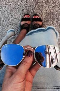 019ec901df74 Ray Ban Hexagonal Flat Lens sunglasses