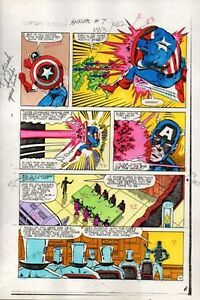 1983-Captain-America-Annual-7-page-14-Marvel-Comics-color-guide-art-1980s
