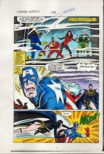 1984-Captain-America-296-page-21-original-Marvel-colorists-color-guide-comic-art