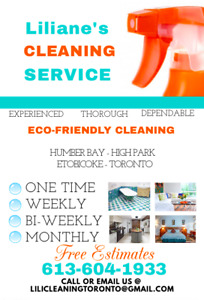 Best price maid/cleaning services - Green products