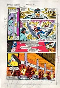 1983-Captain-America-Annual-7-page-19-Marvel-Comics-color-guide-art-1980s