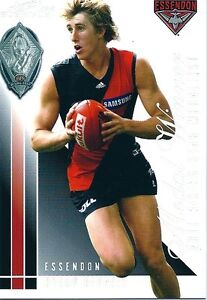 2012 SELECT ETERNITY DYSON HEPPELL 2011 RISING STAR MEADALLIST CARD