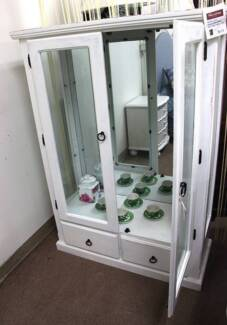 Stock clearance!!--Brandnew display cabinet white for sale(C015W) Wayville Unley Area Preview