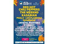 2 x Benicassim tickets with camping