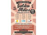 GOLDEN OLDIES - Music afternoon with live band's playing Scottish favorites in Leith