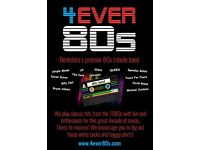 Live 80s tribute band available