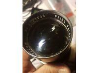Vintage Prinzgalaxy 300mm F5.6vintage Camera Lens. Practika M42 Mount Pistol