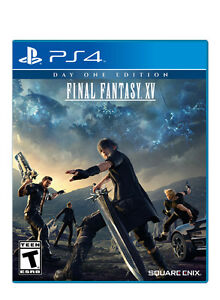 Final Fantasy 15 - PS4, Never Played