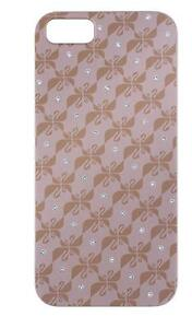 SWAROVSKI Swanflower Pink Gold Tone iPhone 5 iPhone 5S iPhone SE Case 5083041NIB