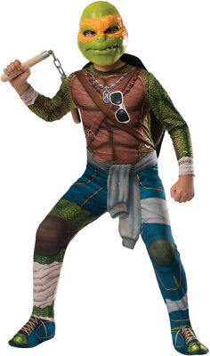 Michelangelo Teenage Mutant Ninja Turtles Deluxe Kinder - Michelangelo Kinder Kostüm