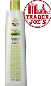 New Trader Joe's Tea Tree Tingle Conditioner 16 oz. Bottle trader Joes shampoo