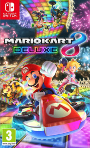 New In Box MARIOKART 8 DELUXE Game For NINTENDO SWITCH Sealed