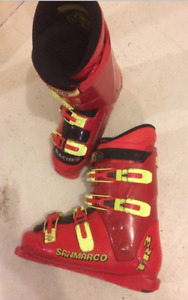 San Marco Racing TR3 ski boots, mens size 11