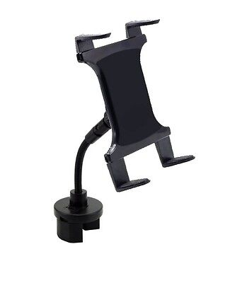 Arkon TAB123 Universal Bendy Cup Holder Car Mount for Tablet Computers